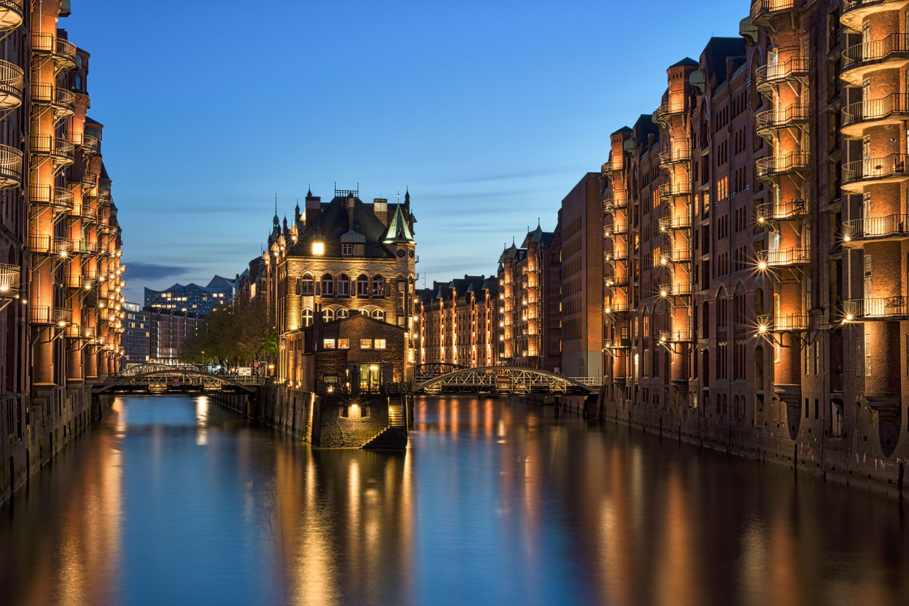 Wasserschloss Speicherstadt, Hamburg